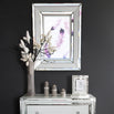 White Metro Rectangular Wall Mirror (76 x 5 x 102cm)