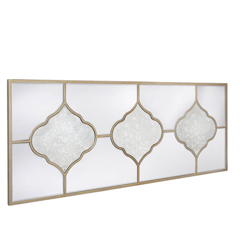Casablanca Antique Venetian Large Decorative Wall Mirror (150 x 2 x 60cm)