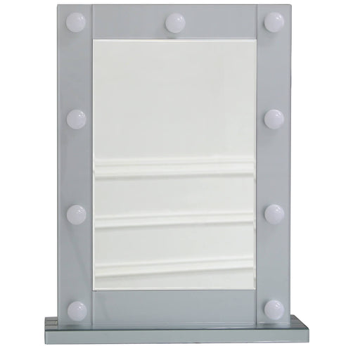 Grey Metro Vanity Dressing Table Mirror (60 x 18 x 77cm)
