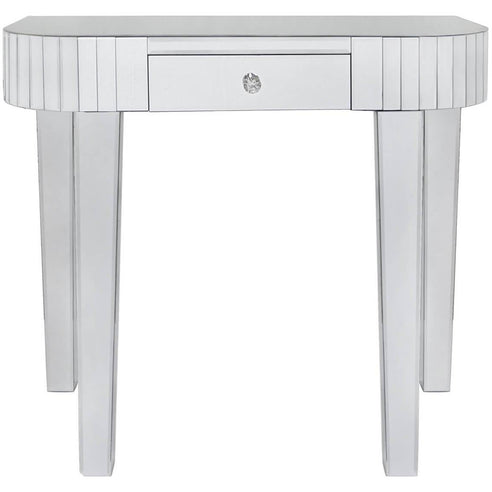 Art Deco Classic Mirrored Tile Console Table (90 x 42 x 83cm)