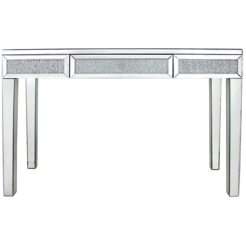 Turin Silver Mirrored Console Table (120 x 40 x 80cm)