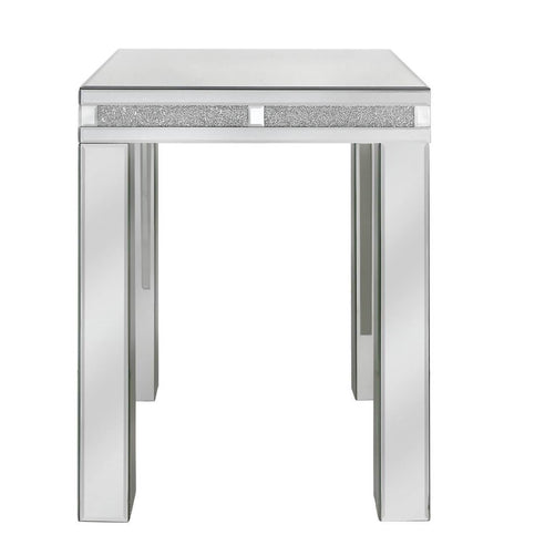 Turin Silver Mirrored Side Table (50 x 50 x 62cm)