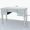 Casablanca Silver Venetian 5 Drawer Dressing Table (122 x 51 x 78.5cm)- CLEARANCE