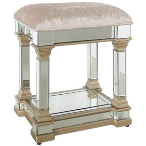Mobile Bar Shabby Chic.Shabby Chic Furniture Footstool Scoutabout Interiors