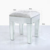 Mistral Venetian Mirrored Dressing Table Stool (45 x 43 x 53cm)
