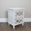 New Hampshire Washed Ash 2 Drawer Bedside Chest (48 x 39.5 x 66cm)