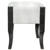 Marlena Dark Grey Walnut Stool (42 x 36 x 52cm)