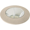 Marlena Light Ivory Walnut Round Coffee Table (110d)