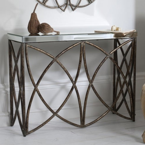 Venetian glass console table - Beckfield