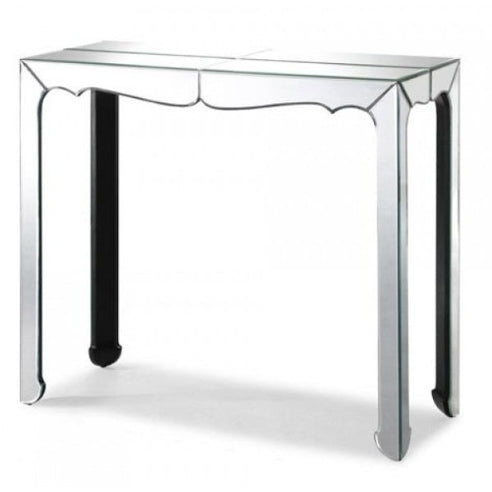 Venetian glass hall console table
