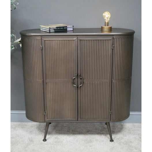 Retro Industrial Deco Sideboard ( 92 x 37 x 92 )