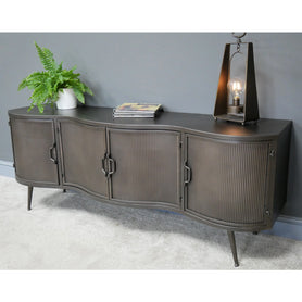 Retro Industrial Deco TV Low Sideboard Unit ( 150 x 40 x 58 )