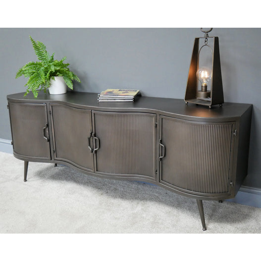 Retro Industrial Deco TV Low Sideboard Unit ( 150 x 40 x 58 ) - PREORDER