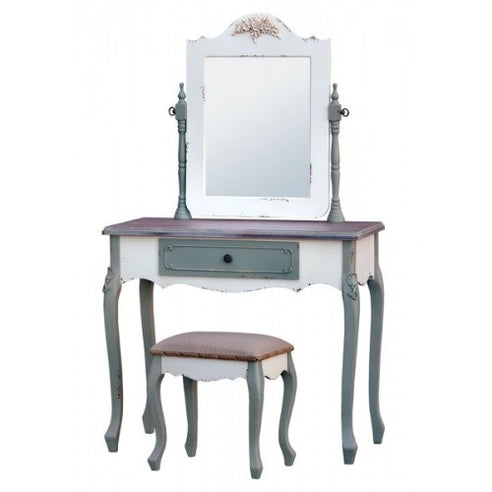 Orleans mutil colour french dressing table set