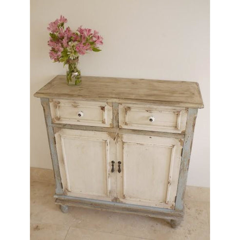 Distressed wood sideboard - Beach House