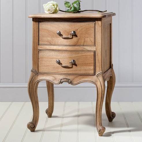 Chic Chalk Weathered French Side Table