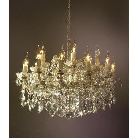 Shabby chic Melanie chandelier 18 arm
