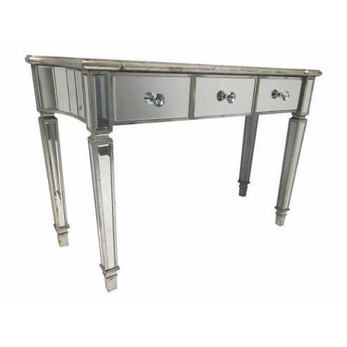 Venetian Glass 'Marbella' Mirrored Console Table (120 x 45 x 80cm)
