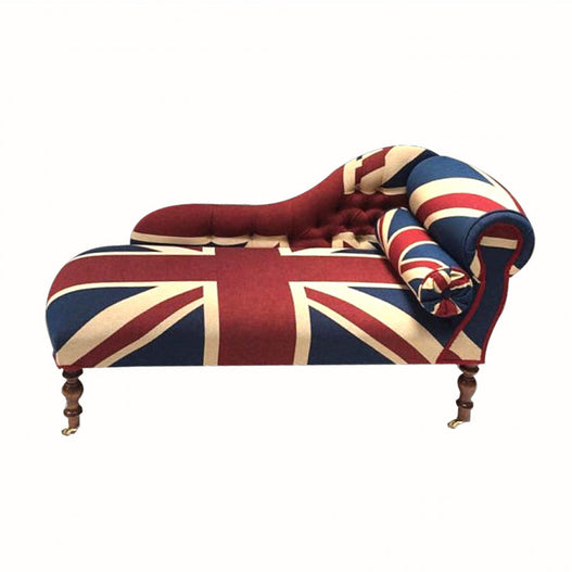 Union Jack French Chaise Longue