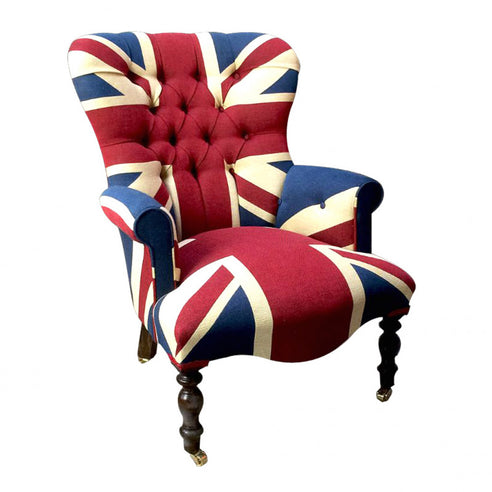 Union Jack French Armchair