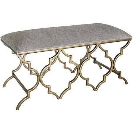 Casablanca Antique Venetian Bench / Stool (101 x 41 x 47cm)