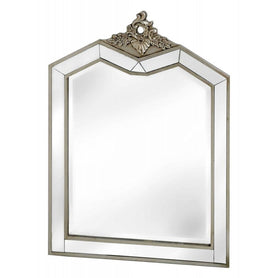 Annabelle Venetian Mirrored Silver Gilt Wall Mirror (67 x 907cm)
