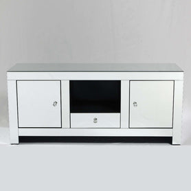 Broadway Art Deco Mirrored TV Media Unit
