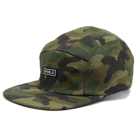 Signalproof 5 Panel Cap Army Camo - SHIELD Signalproof Apparel