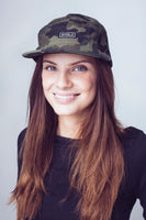 Signalproof 5 Panel Cap Army Camo - SHIELD Signalproof Apparels