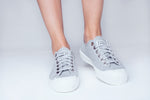 Signalproof Sneakers - Low Top - Gray - SHIELD Signalproof Apparels