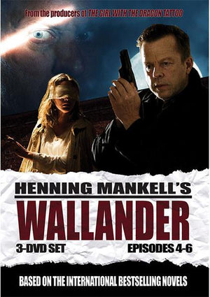 Wallander: Episodes 4-6 Dvd