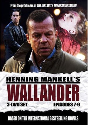 Wallander: Episodes 7-9 Dvd