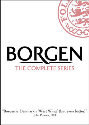 Borgen: The Complete Series front DVD cover. MHz Choice