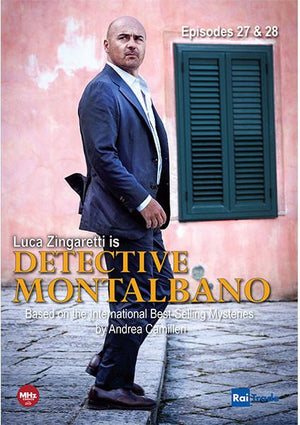 Detective Montalbano: Episodes 27 & 28 With Montalbano And Me: Andrea Camilleri Dvd