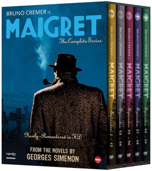 Maigret: The Complete Series Dvd