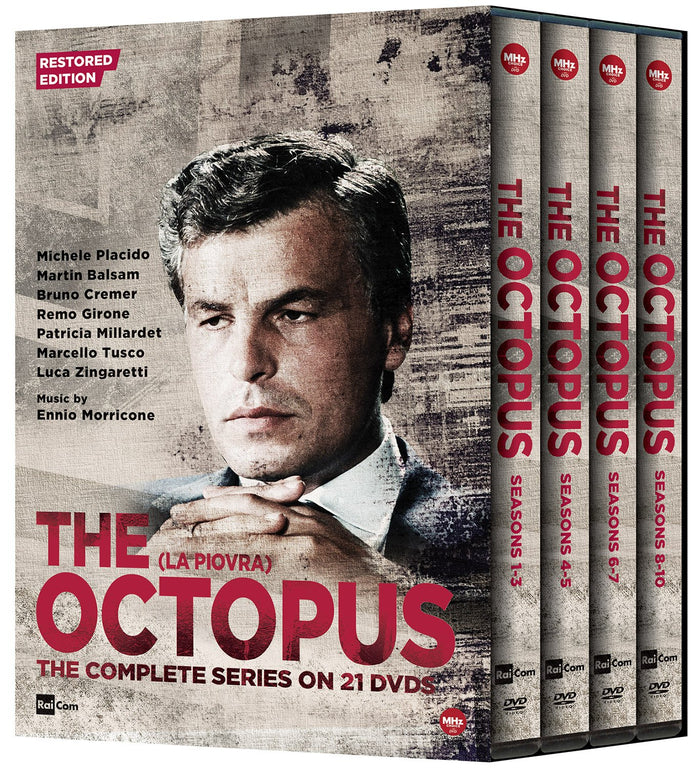 The Octopus: The Complete Series on 21-DVDs