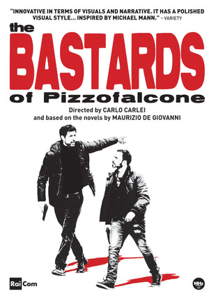 The Bastards Of Pizzofalcone Dvd