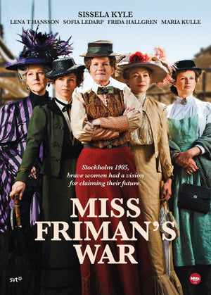 Miss Frimans War Dvd