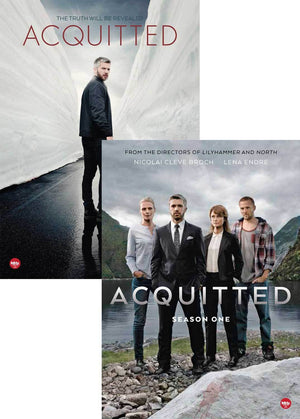Acquitted: Seasons 1 & 2 Combo-Pack Dvd