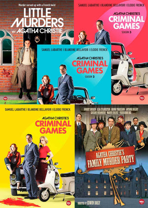 Agatha Christie Combo-Pack Dvd