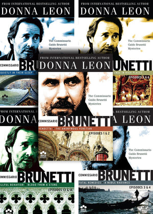Donna Leons Commissario Guido Brunetti Mysteries Binge Set Dvd