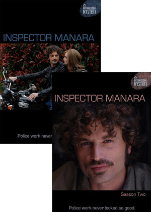 Inspector Manara: Seasons 1 & 2 Combo-Pack Dvd