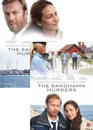 The Sandhamn Murders Vol. 1 & 2 Combo Pack Dvd