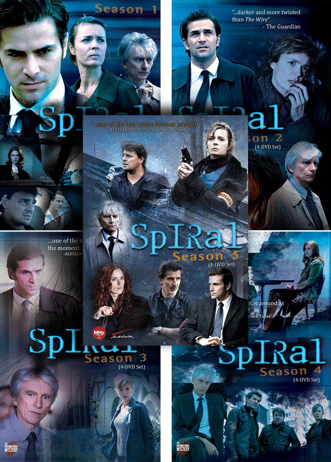 Spiral Binge Set (Region 1 NTSC for US DVD Players) – MHz Networks