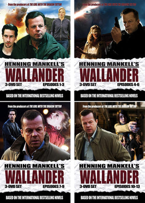 Wallander: Season 1 Binge Set Dvd