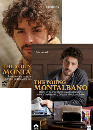 The Young Montalbano: Episodes 1-6 Combo-Pack Dvd