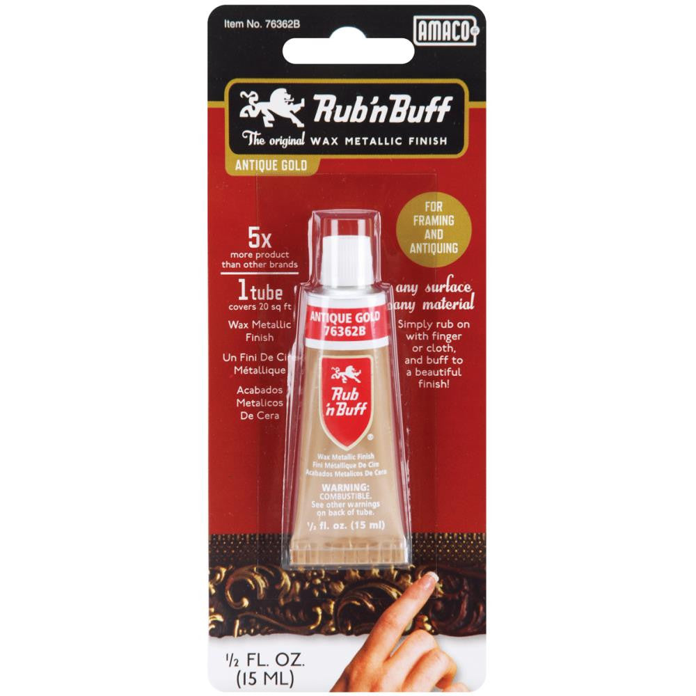 Rub 'n Buff Antique Gold (1/2 oz.)