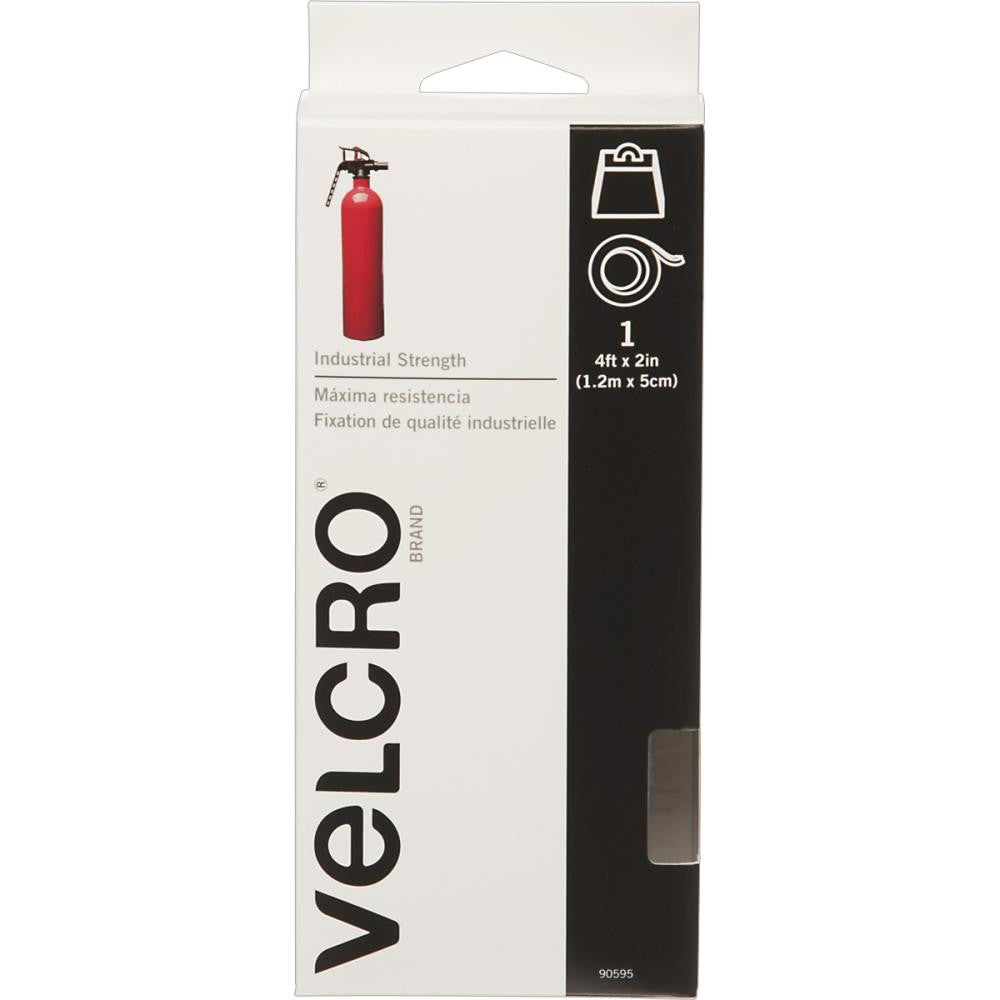 VELCRO Industrial Strength fastener (4 ft long x 2 inch wide) White