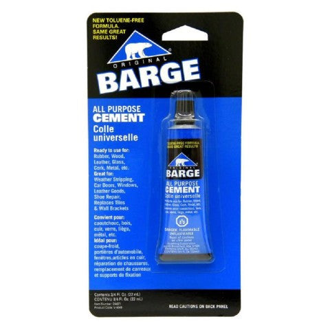 BARGE All Purpose Cement 3/4oz tube