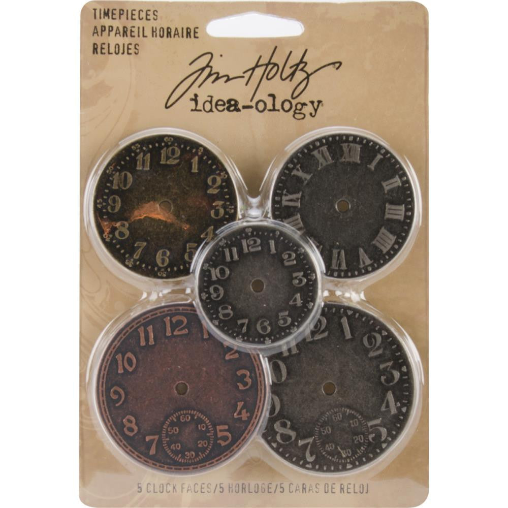 Tim Holtz 5 pc. Clock Face Set